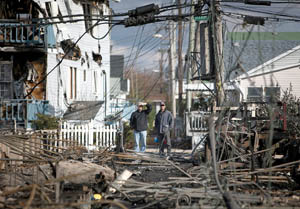 Sandy's wrath